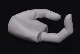 Alan Phelan, The Other Hand of Victory, Hebei version, 2009, marble , 60 x 40 x 40 cms, Courtesy of the artist, Mother�s Tankstation and IMMA