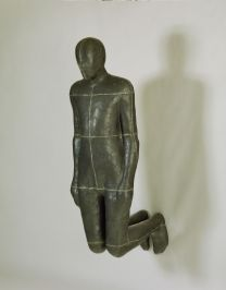 Antony Gormley, Sick, 1986-1989, Lead, fibreglass and plaster, 167.6 x 153.3 x 66 cm, Collection Irish Museum of Modern Art, rmccarthy@templebar.ieLoan, Weltkunst Foundation, 1994