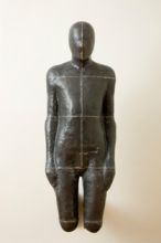 Antony Gormley, Sick, 1986-1989, Lead, fibreglass and plaster, 167.6 x 153.3 x 66 cm, Loan, Weltkunst Foundation, 1994, � Courtesy of the artist and Jay Jopling/White Cube, Photograph by Denis Mortell