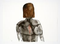 Cecily Brennan, Melancholia, 2005, Watercolour, 75 x 55 cms, Collection Irish Museum of Modern Art, Purchase, 2006
