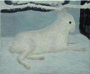 Ciaran Murphy. Rabbit, 2005, 28 x 24.5 cm, oil on canvas.