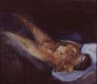 Barrie Cooke, Nude, undated, oil on canvas, 101.5 x 125.8 cm, CIAS at Dublin City Gallery, The Hugh Lane