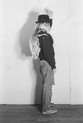 Cindy Sherman, Untitled # 428, 1976/2005, b/w photograph, 19 x 12,7 cm (unframed), 7,5 x 5 inches (unframed), 25,4 x 20,3 cm (framed), 10 x 8 inches (framed), Edition 3/20, MSPM CSH 05680, Courtesy of the artist, Metro Pictures New York and Sprueth Magers Berlin London