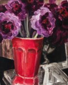 Elizabeth Peyton, Still Life (P.H.), 2007-08, oil on linen over board, 25.7 x 20.3 cm, Private Collection, New York, Courtesy Gavin Brown's enterprise, New York