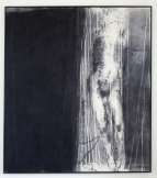Hughie O'Donoghue, Oxygen, 1996, charcoal, dry pigment on cotton duck, 267 x 236 cm, Collection Irish Museum of Modern Art