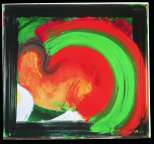 Howard Hodgkin, Lovers, 1984 � 92, oil on wood, 171.5 x 185.4 cm, Private Collection, courtesy of Ivor Braka Ltd, London.  Image credit: Gagosian Gallery, London.