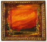 Howard Hodgkin, Old Sky, 1996 � 97, oil on wood, 39.4 x 43.8 cm, Courtesy: Private Collection, London.  Image credit: Gagosian Gallery, London.