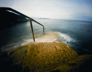 Tom Hunter, Bathing Places in Dublin,  Forty- foot, 2006, Process Room, IMMA