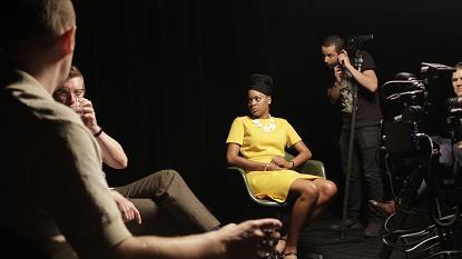Image:Jesse Jones, The Selfish Act of Community, 2012, production still, Andrew Bonacina, Courtesy the artist. © Jesse Jones