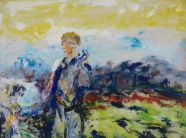 Jack Butler Yeats, Eileen Aroon, 1953, 90 x 122 cm, Collection Irish Museum of Modern Art, Heritage Gift by the Bank of Ireland from the Bank of Ireland Collection, 2008