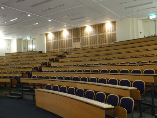 Lecture Theatre, IMMA at NCH, Earlsfort Terrace, Dublin 2