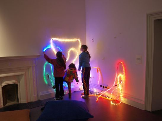 Light Rhythms, Installation view Irish Museum of Modern Art, 2014
