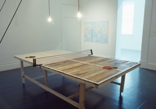 Mark Clare, Ping-Pong Diplomacy and My World Is Over, Process Room , IMMA, 2008