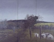 Martin Gale, Sonny�s Day (triptych), 1980, oil on canvas, 107 x 137 cm, Collection Irish Museum of Modern Art, Donation, Maire and Maurice Foley, 2000