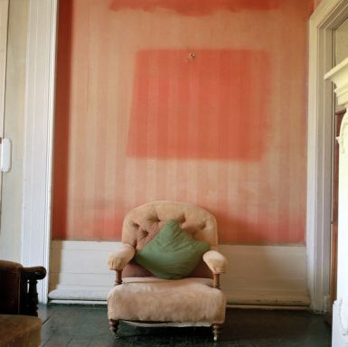 Martin Parr, The Site of the Stolen Painting, Lissadell House, County Sligo, 1996, C print, Edition 1/25, 51 x 61 cm, Collection Irish Museum of Modern Art, Purchase, 2006, � Martin Parr / Magnum Photos.
