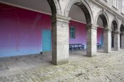 Michael Craig-Martin, Courtyard Installation, IMMA, 2006, Courtesy the artist, Photo � Denis Mortell