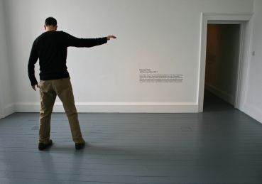 Michael Kli�n, Silent Witness/A Dancing Man, 2011. Photo �Christina Gangos