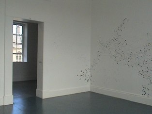 Jo Milne, parasystoles lost in phase space, Process Room, IMMA, 2004