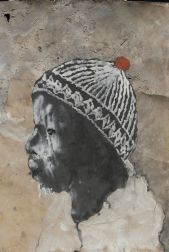 Miquel Barcel�, Ogobara with a hat, 2005, Africa, Mixed media on paper, 75 x 51 cm, Private Collection