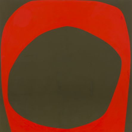 Patrick Scott, Small Rosc Symbol, 1967, Oil on panel, 152.4 x 152.4 cm, Collection Irish Museum of Modern Art, Heritage Gift, P.J. Carroll & Co. Ltd. Art Collection, 2005
