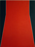 Cecil King, Nexus, 1971, oil on canvas, 114 x 90cm, Bank of Ireland