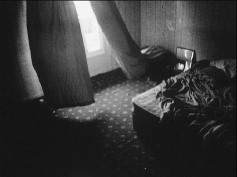 Paddy Jolley, Rebecca Trost & Inger Lise Hansen, Hereafter, 2004, Black and white film transferred from 16mm/Super 8 to DVD, Collection Irish Museum of Modern Art, Purchase, 2005