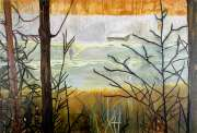 Peter Doig, Almost Grown, 2002, Oil on canvas, 200 x 250 cm, Collection Irish Museum of Modern Art, On loan from a private collection