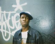Pierre Huyghe, Block Party, Grandmaster Flash, 2002, Polaroid photograph from the work Block Party, 2002, 5'30'', 16mm film transferred onto hard disk, Courtesy the artist and Marian Goodman Gallery, New York/Paris