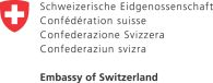 The Swiss Embanny logo