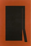 Cecil King, Thrust, 1984, oil on canvas, 185 x 120 cm, Collection Dublin