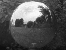 Ulla von Brandenburg, Geist (Ghost), 2007, 16mm film, b&w, silent, looped, 1 min 3 sec, Dimensions variable, Courtesy: The artist, Art:Concept, Paris and Produzentengalerie, Hamburg. Film still, Edition of 5